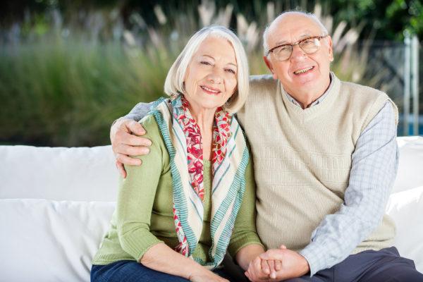 Couple de seniors.