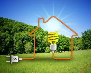 câble électrique qui aliment une maison
