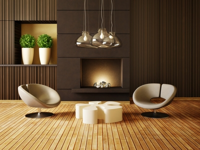 salon parquet bois decoration