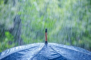 Eau de pluie transformée en électricité