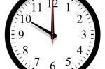 Horloge changement heure
