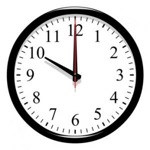 changement heure horloge