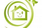 Maison verte et clin d'oeil