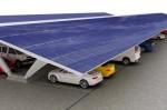 Les panneaux solaires protègent les voitures!