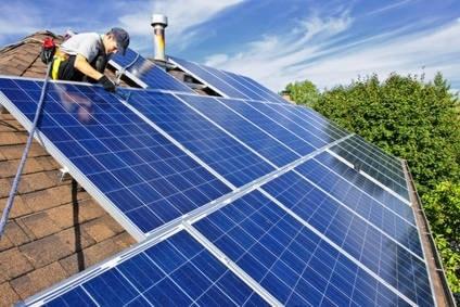 production electricite installation panneaux solaires