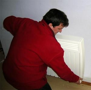 Professionnel installation de chauffage électrique