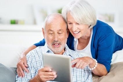 tablette pour senior