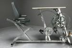 Vélo-bureau: produire de l'électricité tout en travaillant