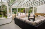 véranda terrasse piscine